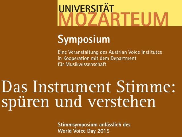 Das Instrument Stimme: spüren und verstehen.