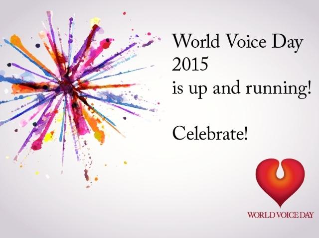 World Voice Day 2015!