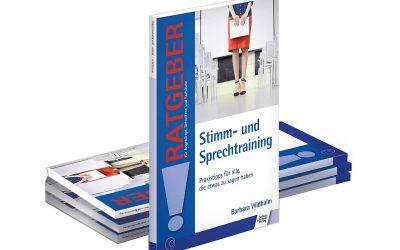 """Endlich! Das Buch """"Stimm- und Sprechtraining"""" ist da."""