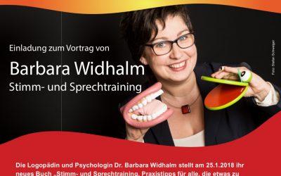 Buchpräsentation und Mitmach-Vortrag.