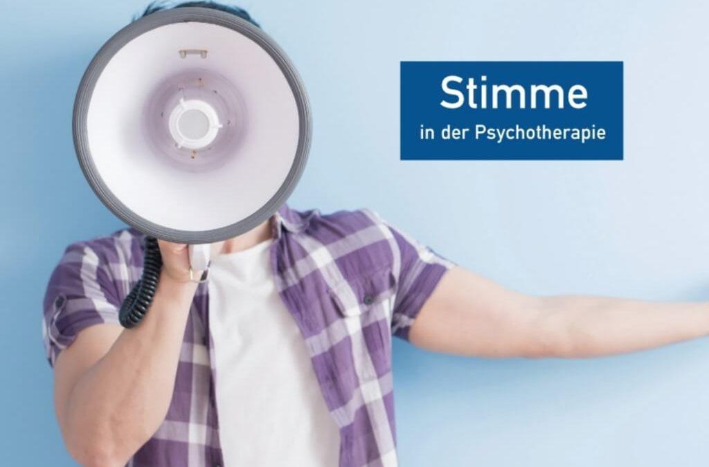 Die Stimme in der Psychotherapie.